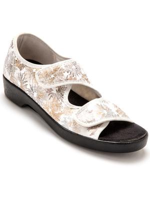 Sandales maille extensible à scratch
