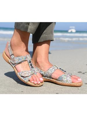 Sandales cuir ultra souples PEDICONFORT®
