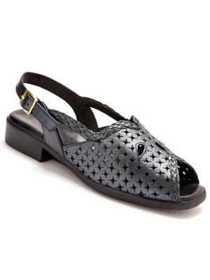 Sandales cuir ajouré PEDICONFORT®