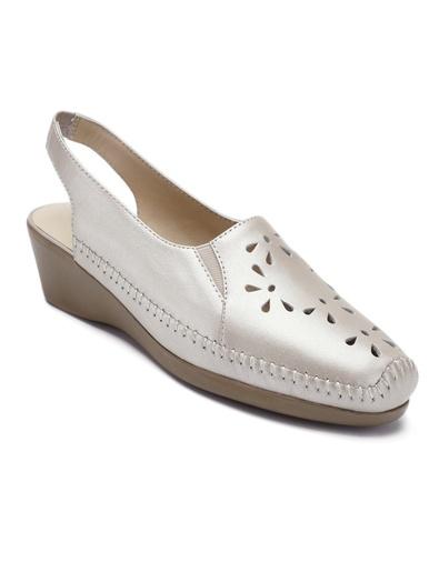 Sandales cuir ajouré ultra souples