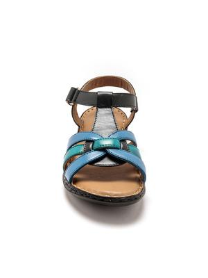 Sandales d'été cuir ultra légères