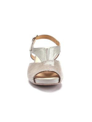 Sandales cuir style croco, PEDICONFORT®