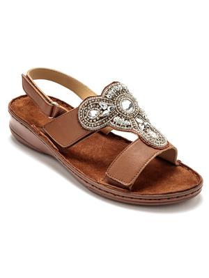 Sandales à aérosemelle® extra larges