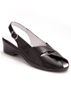Sandales cuir PEDICONFORT®, extra-larges