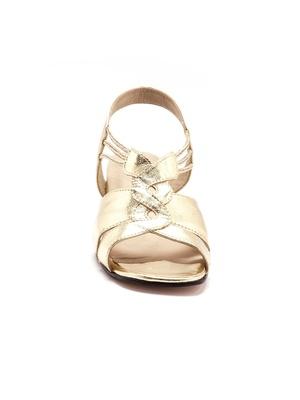 Sandales cuir, enfilage facile