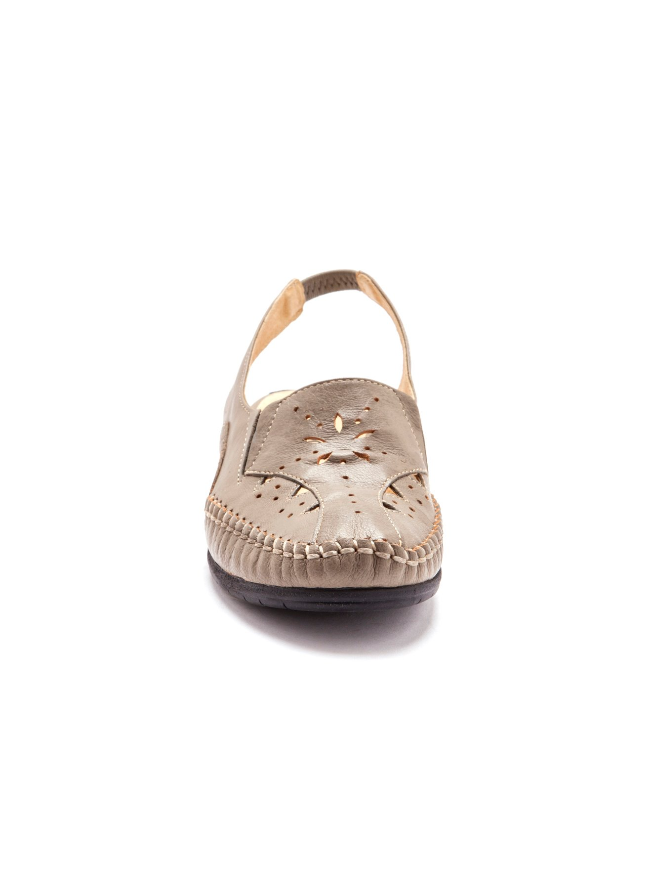 Sandales 4cm Ajouré Cuir Balsamik Talon yI7mY6gbfv