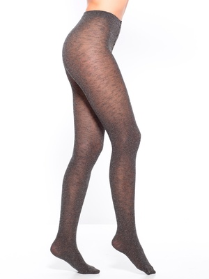 Collants chinés opaques lot de 2