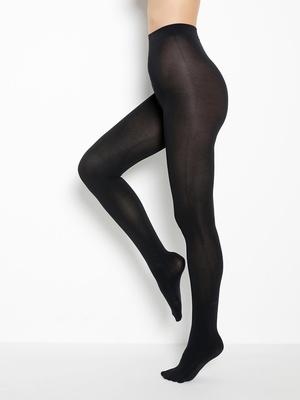 Collants bien chauds en microfibre