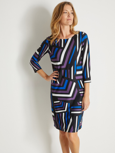 Robe housse manches 3/4