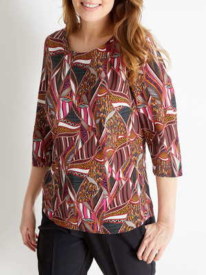 Blouse encolure ronde