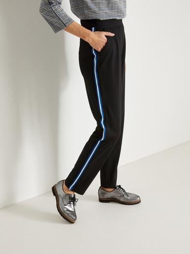 Pantalon élastiqué en maille
