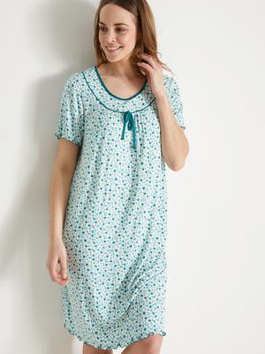 Chemise de nuit forme ample