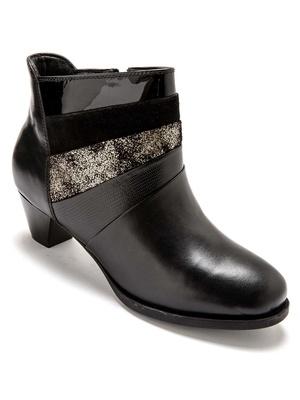 Boots cuir aérosemelle®