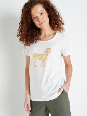 Tee-shirt manches courtes pur coton