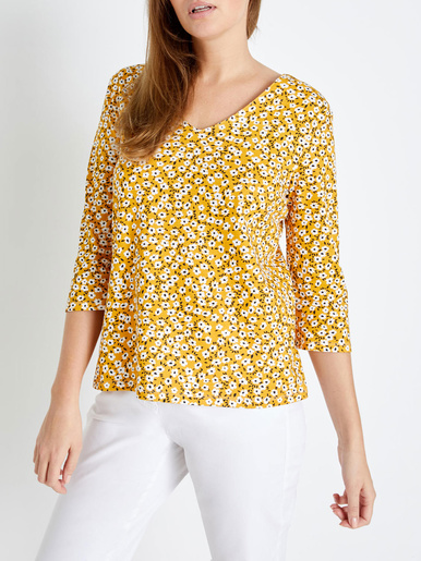 Tee-shirt pur coton, stature - d'1,60m