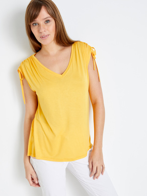 Tee-shirt transformable en débardeur