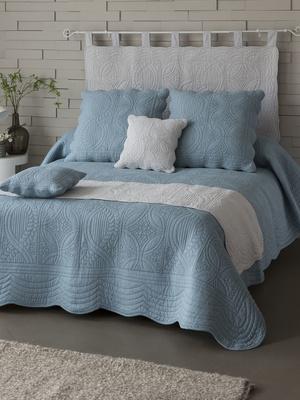 Couvre-lit en boutis de coton 370g/m2