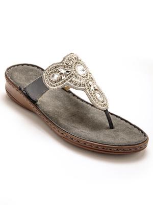 Sandales à aérosemelle®, extra larges.