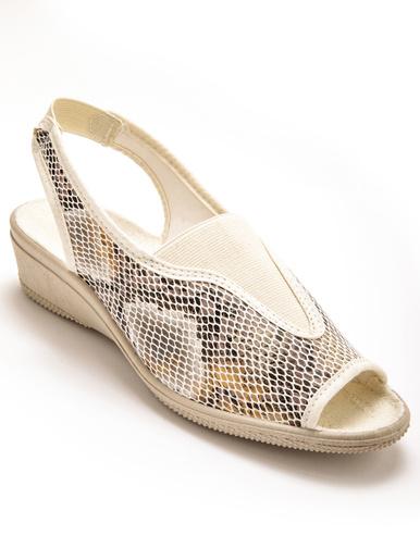 Sandales à élastique, maille extensible - Charmance - Modalova