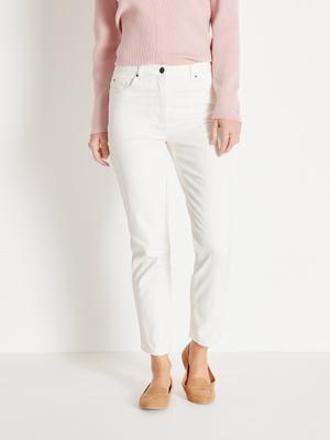 Pantalon 5 poches, longueur cheville
