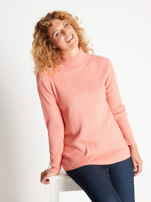 Pull chaussette, col montant