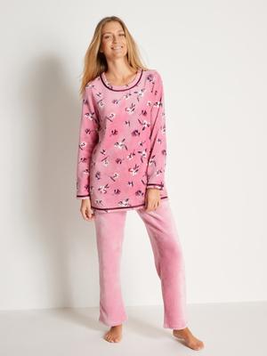 Pyjama maille peluche