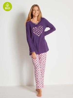 Lot de 2 pyjamas coton bio