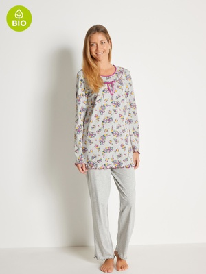 Pyjama maille coton bio