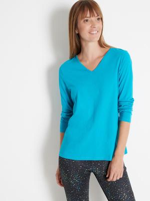 Lot  2 tee-shirts coton, manches longues