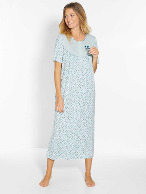 Lot 2 chemises de nuit manches longues
