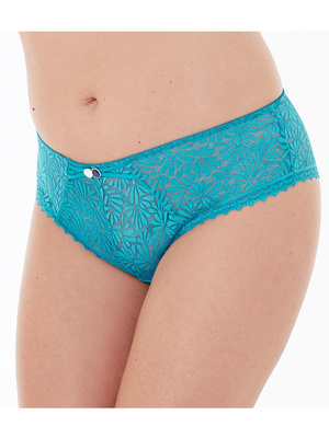 Shorty Check-in, dentelle florale