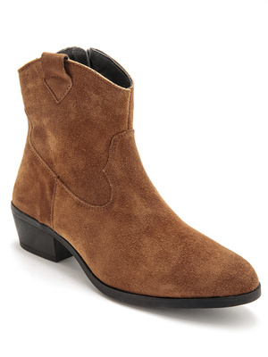 Boots look santiags doublure polaire