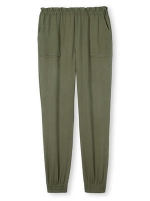 Pantalon cargo lyocell