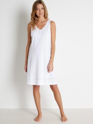 Fond de robe long. 90cm pur coton