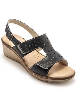 Sandales à scratchs ouverture totale