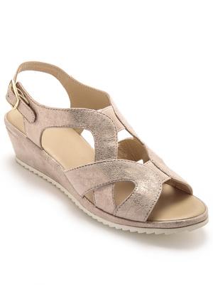 Sandales hautes grand confort