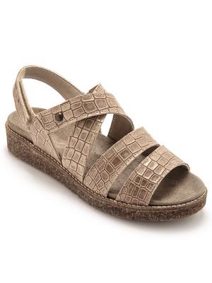 Sandales semelle amovible et lavable