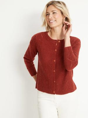 Cardigan fantaisie avec laine et alpaga