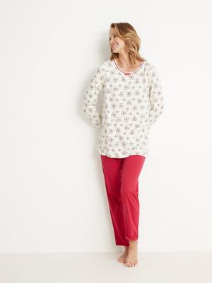 Lot de 2 pyjamas maille coton bio