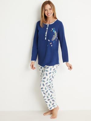 Pyjama en maille coton bio