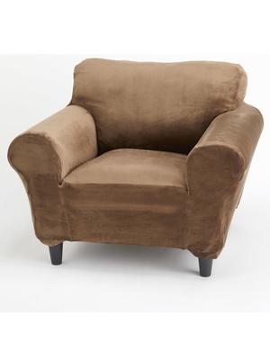 Housse universelle velours pour fauteuil