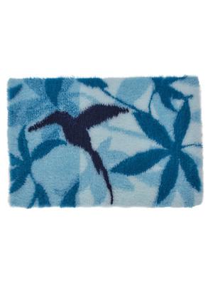 Tapis de bain colibri