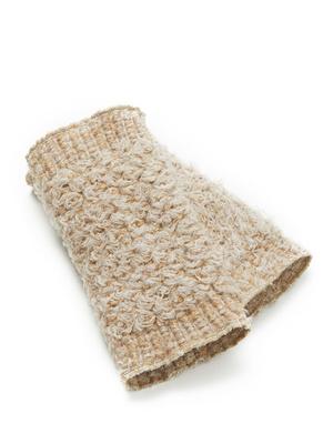 Mitaines avec laine et mohair