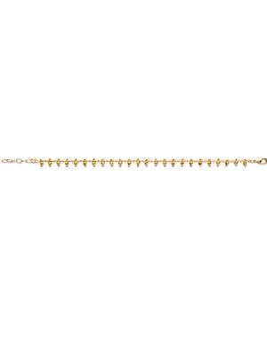 Bracelet petites boules plaqué or